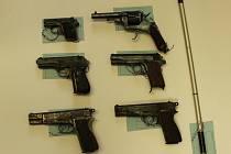 Pistole odevzdané v posledních dnech v Budějovicích.