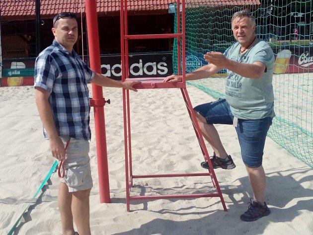 Přemysl Horák (vlevo) a Jan Kanea.