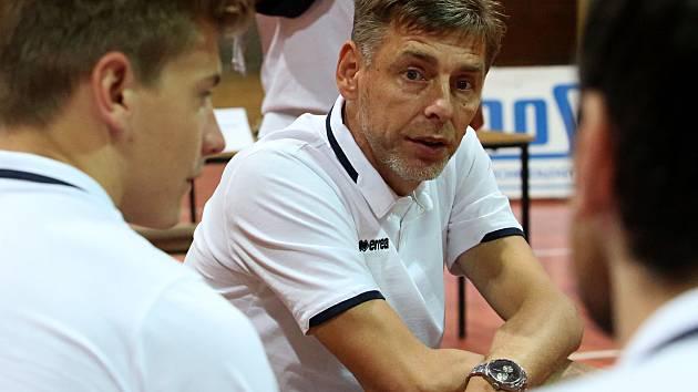 Trenér Jihostroje René Dvořák