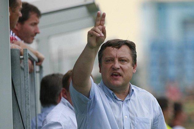 Jiří Kotrba v době, kdy tým koučoval.