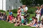 Letní sezona na zámku Mitrowicz v Kolodějích nad Lužnicí je v plném proudu.