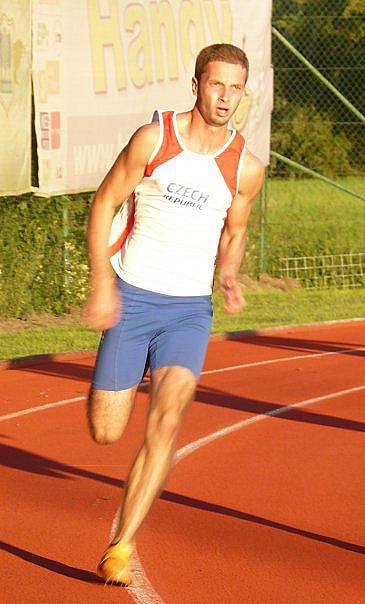 Radek Šíma patří k nejtalentovanějším sprinterům na jihu Čech