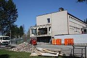 Rekonstrukce hotelu Máj již odstartovala.