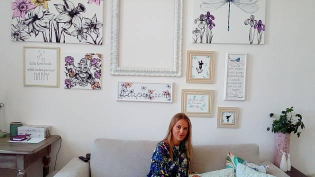 Výtvarnice Daniela Roulová Plocková má široký záběr. Uvidíte její dílo v Koželužně v Nových Hradech.