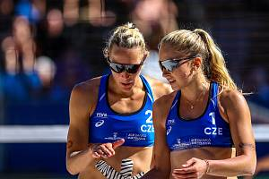 Michaela Kubíčková s Michalou Kvapilovou vstoupily do šampionátu prohrou.