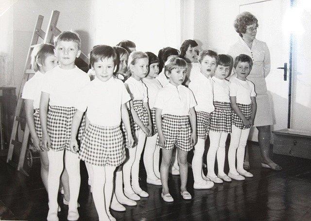 Z historie mateřská školy E. Pittera.