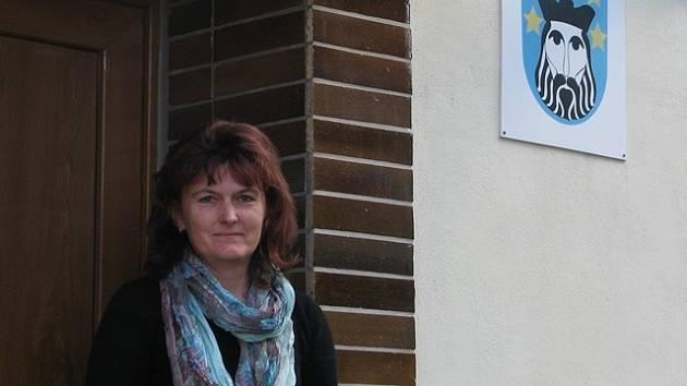 Růžena Balláková, starostka obce Svatý Jan nad Malší.