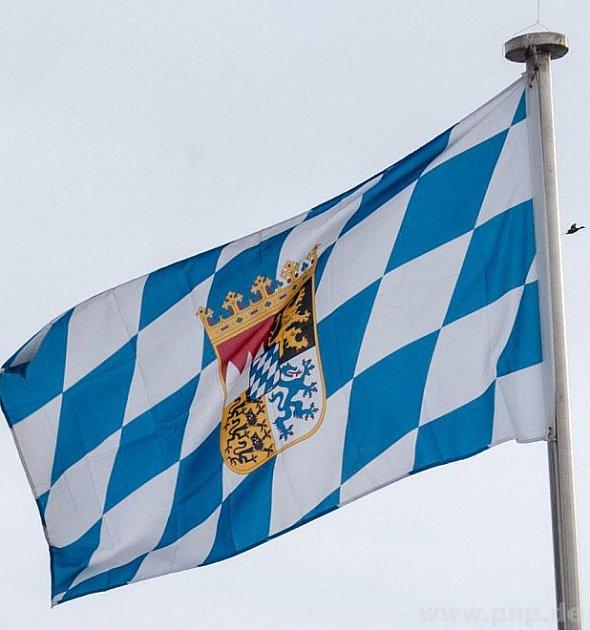 Vlajka na balkoně vadí?