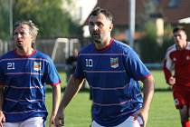 Kapitán fotbalistů Plané Tomáš Pintér je s verdiktem komise spokojen.