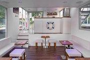 Vizualizace budoucí kavárny VLNNA.