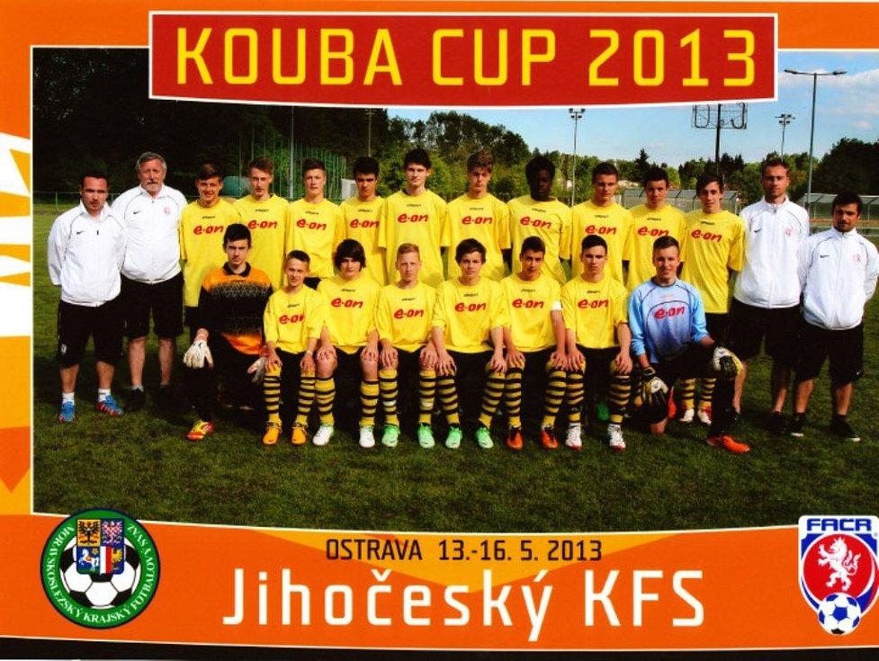 Jihočeská patnáctka na letošním Kouba Cupu.
