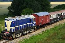 Na jihočeské lokálce budou jezdit vlaky do konce prázdnin každou sobotu.