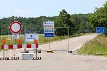 Stavební firma Eurovia plánuje rekonstrukci silnice II/145 Češňovice - Němčice od 5.6. do 17.12.