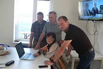 Výsledky voleb sledovali zástupci KSČM s realismem. Výsledek je ovšem mrzel.