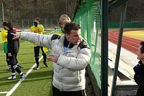 Roman Švec (na archivnímku snímku ještě ze zimní přípravy) povede fotbalisty Zlivi i v I. A třídě.