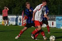 Borek a Nová Ves (na snímku) bojují ve IV. třídě o postup, o okresním přeboru si zatím v obou klubech mohou nechat zdát, ale do budoucna, kdo ví. N. Ves posiluje kádr, Borek má zase vynikající zázemí, na tamním stadionu hrávalo Dynamo B třetí ligu.