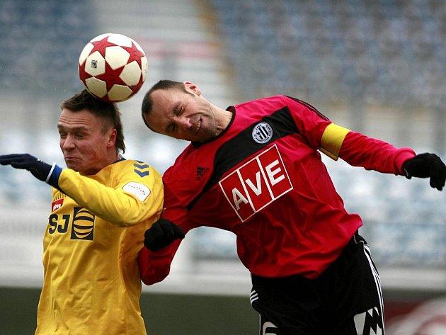 Roman Lengyel v nevydařené generálce s Jihlavou patřil v týmu Dynama k nejlepším.