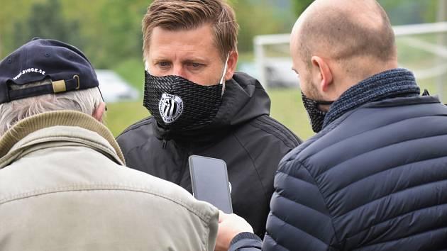 Trenér David Horejš povede ve středu fotbalisty Dynama v ligové dohrávce proti Příbrami (16).