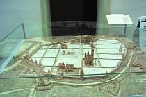 Trojrozměrná podoba Českých Budějovic ze 17. století je k vidění v budově historické radnice.