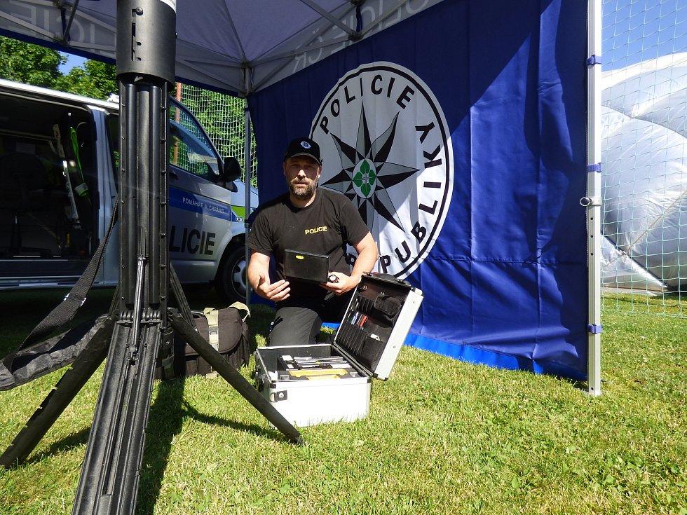 Ve čtvrtek 17. června se na SKP v Českých Budějovicích uskutečnil policejní workshop.