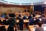Prezident republiky Miloš Zeman při setkání se členy Zastupitelstva Jihočeského kraje, starosty obcí, řediteli příspěvkových organizací a významnými osobnostmi Jihočeského kraje.