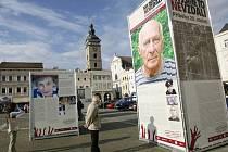 Společnost Post Bellum prezentovala projekt Příběhy 20. století v roce 2010 také v Českých Budějovicích.