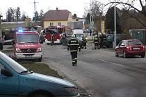 Děsivá scéna se odehrála pod okny obyvatel Nových Hodějovic.