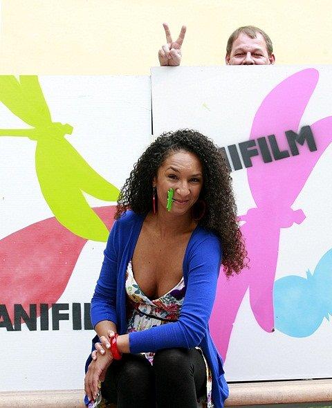 V Třeboni začal festival Anifilm. Na snímku ředitelka Aida Abbasová.
