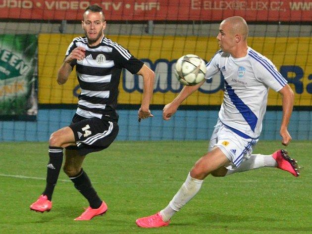 Roman Wermke proti Frýdku-Místku zařídil třetí gól Dynama.
