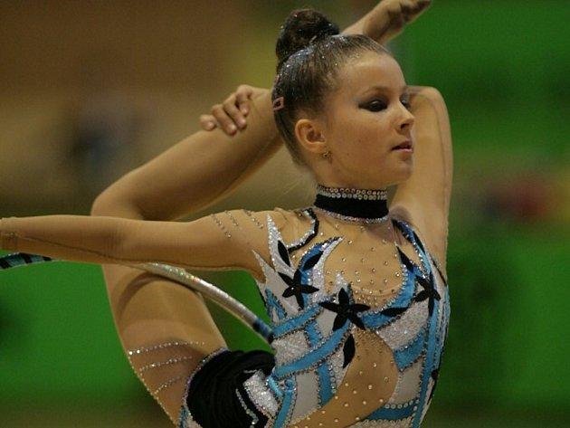 Helena Kristková z SKMG Máj patří mezi naděje české gymnastiky.