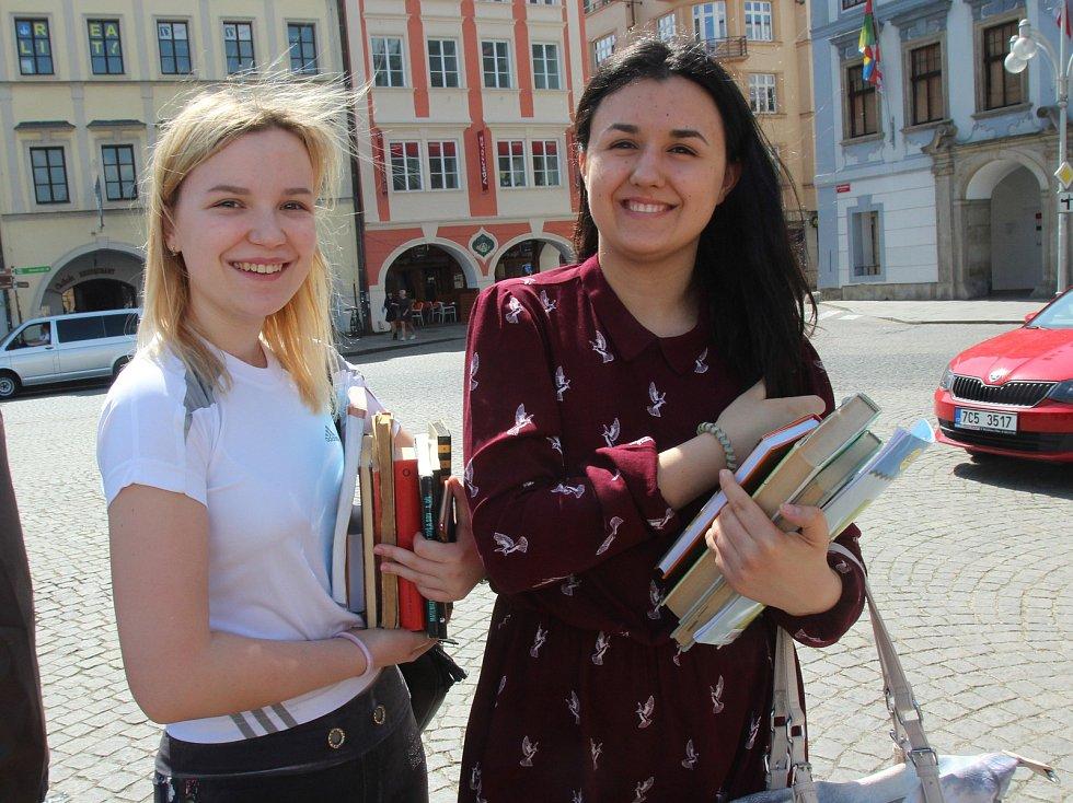 Knihy na českobudějovickém náměstí