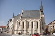 Kostel Svaté Rodiny v Českých Budějovicích.