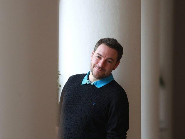 Lukáš Průdek (31), zástupce ředitelky Dejvického divadla, jeden ze dvou kandidátů na pozici ředitele Jihočeského divadla.