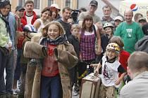 Spokojení účastníci Běhu Járy Cimrmana.