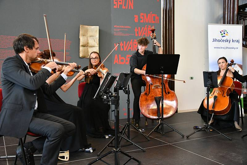 Sextet Jihočeské filharmonie.