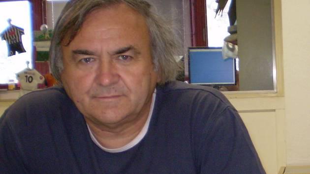 Trenér SK Čéčova Pavel Váňa