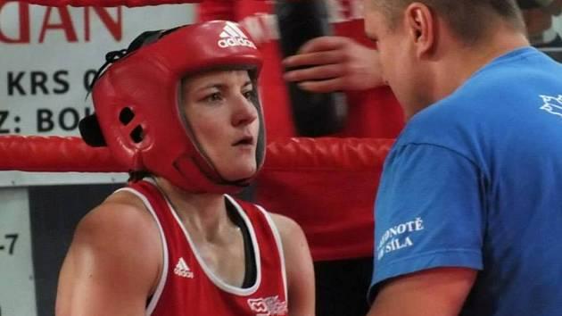 Lenka Kardová letošní boxerskou sezonu završila titulem mistryně republiky.
