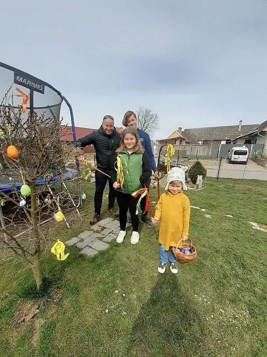 Velikonoční pondělí 5. dubna 2021 v jižních Čechách.