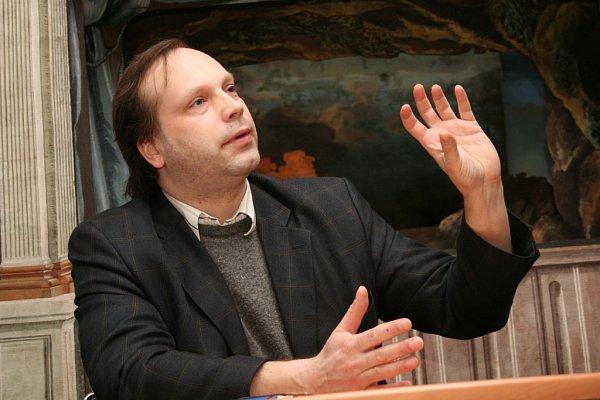Ondřej Macek, umělecký vedoucí souboru Hofmusici.