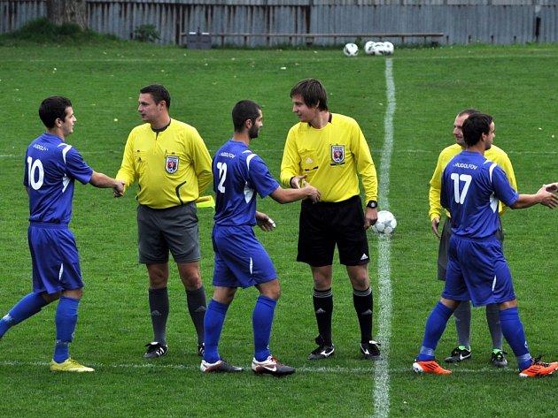 Fotbalisté Rudolfova remizovali s Prachaticemi 0:0 a už nejsou poslední.
