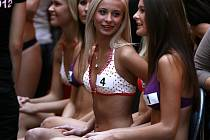 Casting na Českou miss v Obchodním centru IGY v Českých Budějovicích