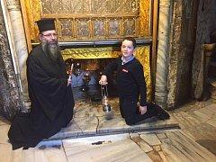 Tobias s ortodoxním farářem.