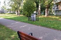 Pietní místo připomínající zaniklý vojenský hřbitov v jižní části Českých Budějovic.