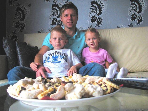 David Horejš, kapitán fotbalistů Dynama, se těší na Vánoce v kruhu rodinném.