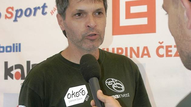 ŠÉF. Ředitelem závodu Okolo jižních Čech je Jan Hájek.