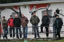 Diváci na okresním přeboru v Neplachově.