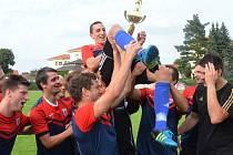 Soběslavští fotbalisté se radují, pohár zůstal doma!