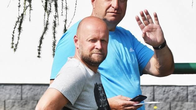 Trenéři Jaromír Plocek a Petr Skála dovedli béčko Dynama na podzim v divizi na druhou příčku.