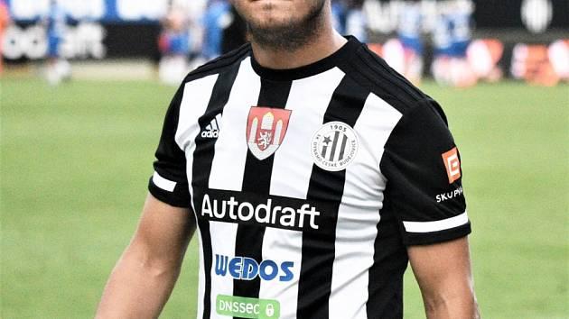 Lukáš Jánošík v Olomouci dal vyrovnávací gól Dynama na konečných 1:1.