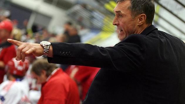 Trenér Jan Tlačil
